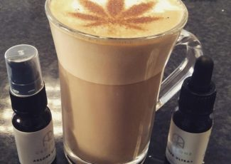 Would YOU like a shot of cannabis in your coffee? New CBD cafe opens with a twist – and they say it's just like having a …