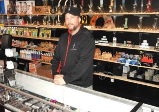 Legal weed fires up head shop business