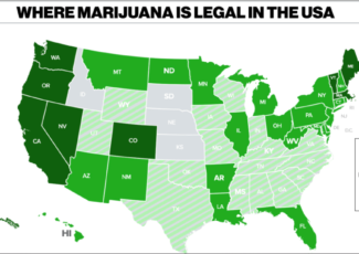 Marijuana should be legalized nationwide, student says