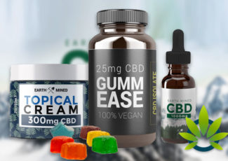 Earth Mined CBD: Full-Spectrum Cannabidiol Oil, Cream, Pills and Gummies – TimesOfCBD