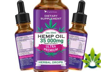 Cultivax Hemp Oil: Natural Pure Full Spectrum CBD (Cannabidiol) Drops – TimesOfCBD