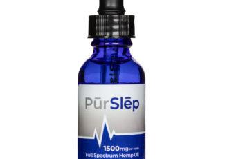 PūrWell Disrupts the Sleep Industry with PūrSlēp, a Custom Formulated CBD Full-Spectrum Hemp Oil – PRNewswire