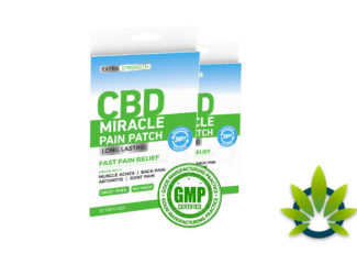 CBD Miracle Pain Patch: New Long-Lasting Fast Pain Relief Cannabidiol Product – TimesOfCBD